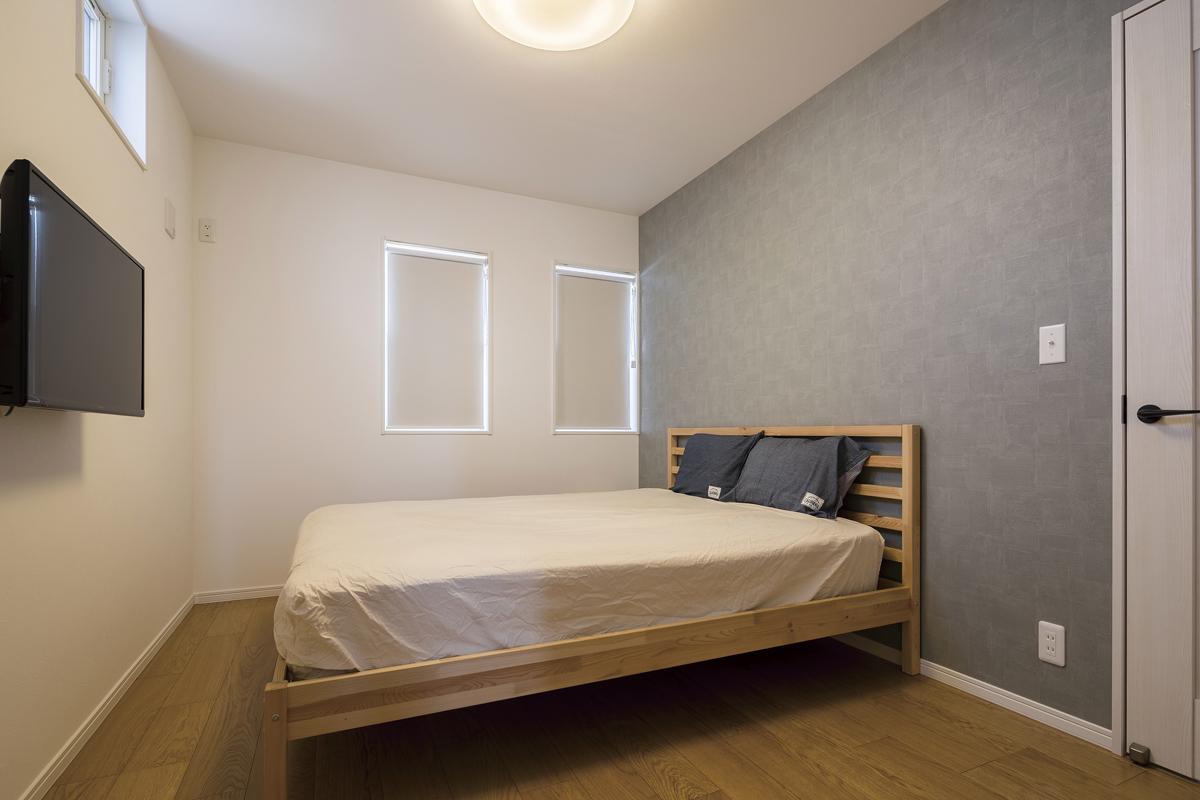 アメリカンスタイルの家 寝室