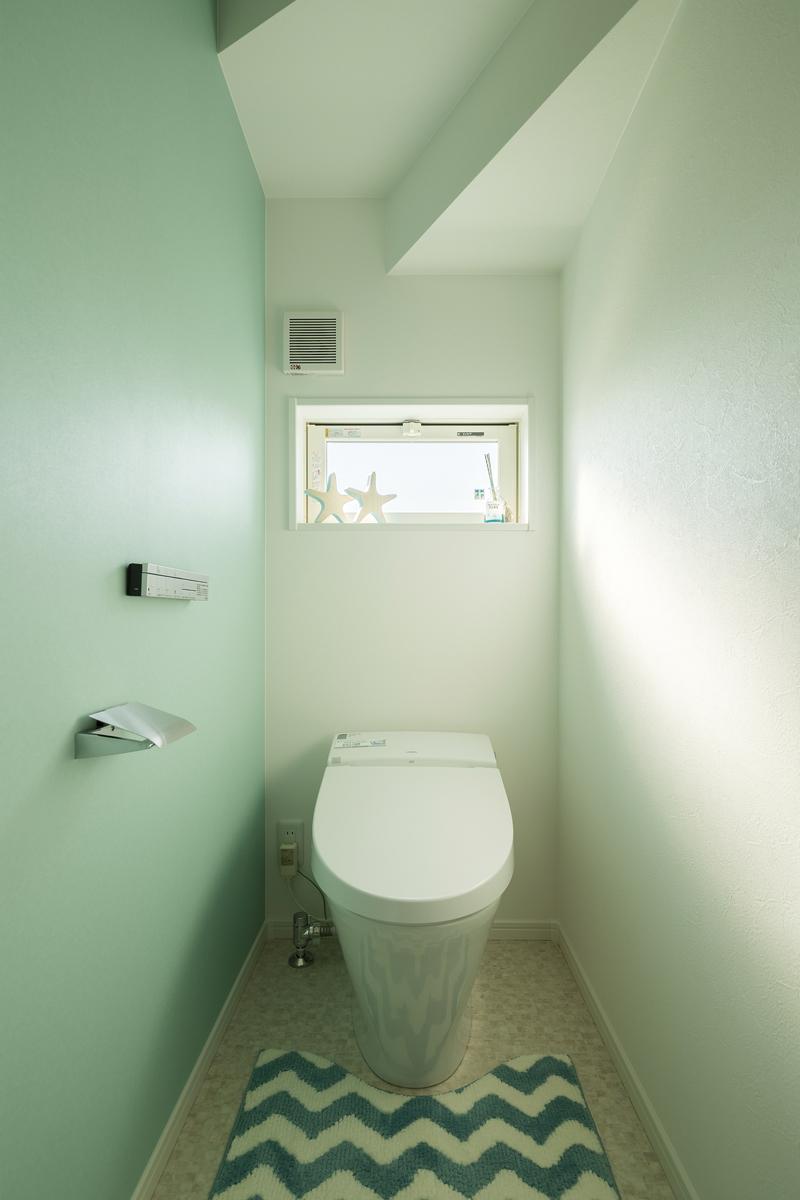 アメリカンスタイルの家 トイレ