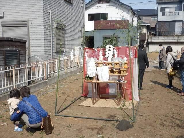 地鎮祭について