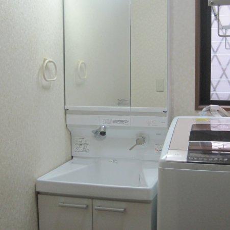 洗面室のリフォーム 座間市