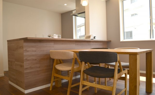 つくし野モデルハウス-キッチン